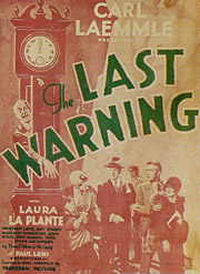 The Last Warning, starring Laura LaPlante